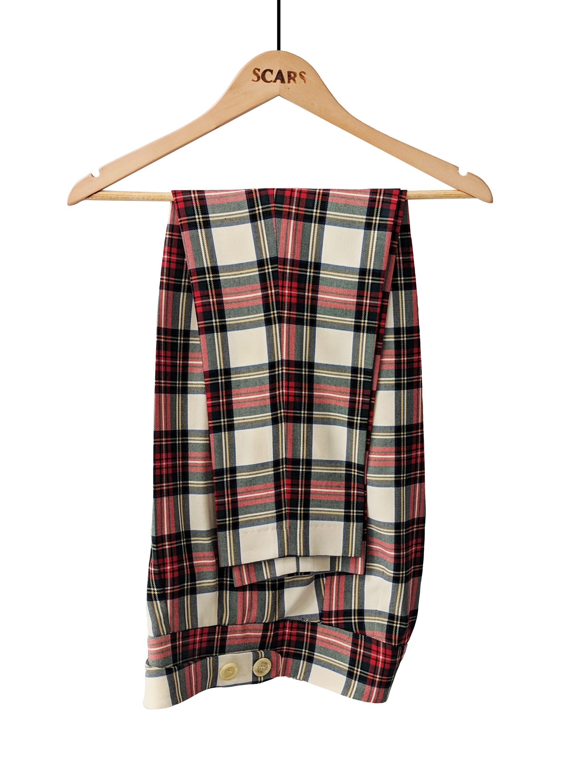 PANTALONES RED CHECKERED SCARS